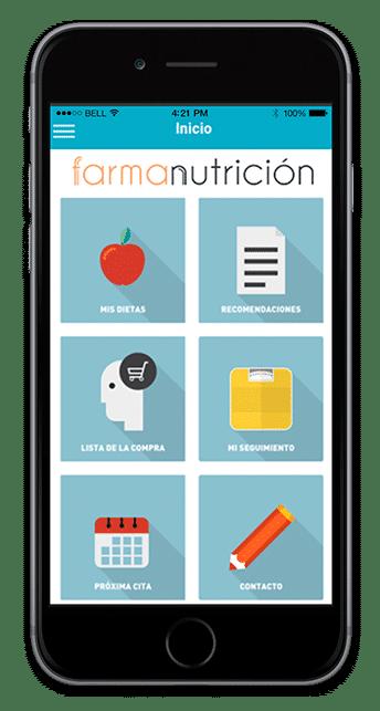 aplicación movil farmanutricion