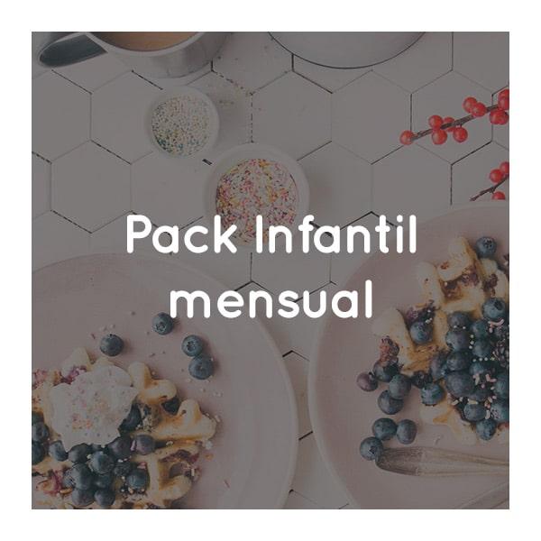 pack infantil mensual